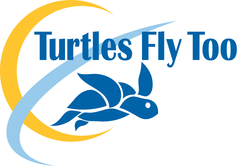 Turtles Fly Too's logo